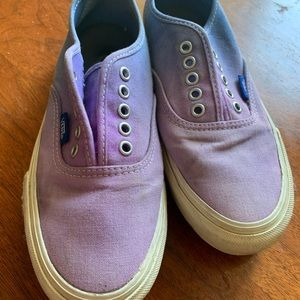 Purple Ombré Vans